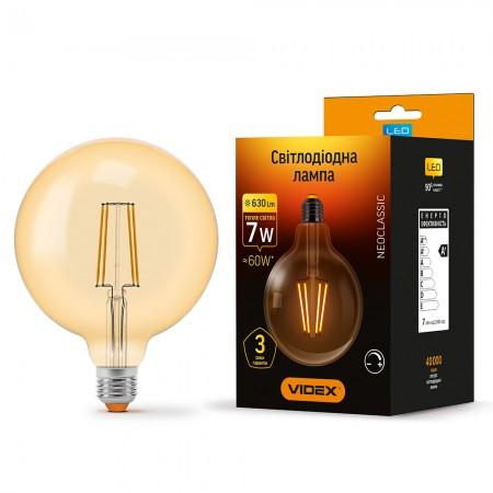 Лампа Filament диммерная G125FAD 7Вт 600Лм 2200К купить на DINAR ☎ (067) 467 25 28 ✓ лучшие цены ✓ постоянные акции и скидки ✓ отзывы