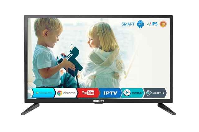 Телевизор DLED IPS 32 Romsat 32HSK1810T2 купить недорого в интернет-магазине Dinar ☎ (099) 160 34 55 ✓ лучшие цены ✓ отзывы и фото