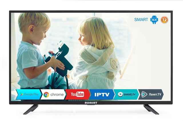 Телевизор DLED VA 40 Romsat 40FSK1810T2 купить недорого в интернет-магазине Dinar ☎ (099) 160 34 55 ✓ лучшие цены ✓ отзывы и фото