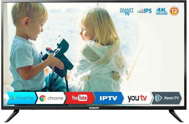 Телевизор DLED IPS 43 Romsat 43USK1810T2 купить недорого в интернет-магазине Dinar ☎ (099) 160 34 55 ✓ лучшие цены ✓ отзывы и фото