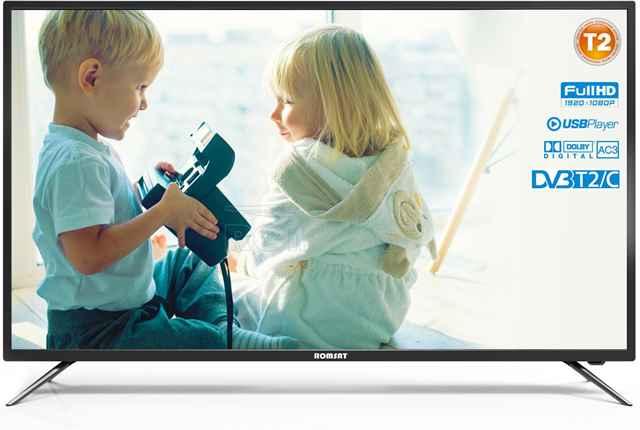 Телевизор DLED VA 48 Romsat 48FMC1720T2 купить недорого в интернет-магазине Dinar ☎ (099) 160 34 55 ✓ лучшие цены ✓ отзывы и фото