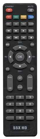 Пульт для Romsat 50X HD купить недорого в интернет-магазине Dinar ☎ (099) 160 34 55 ✓ лучшие цены ✓ отзывы и фото
