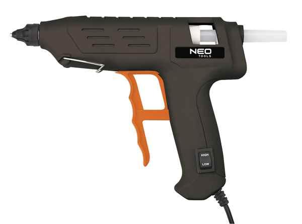 Пiстолет NEO клейовий електричний, 11 мм, 80 Вт,  регулювання температури, 17-082 купить в интернет-магазине Dinar ☎ (099) 160 34 55 ✓ лучшие цены ✓ бесплатная доставка от 1000 грн ✓ отзывы и фото