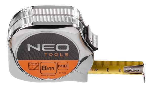 Рулетка NEO, сталева стрiчка  8 м x 25 мм, 67-148 купить в интернет-магазине Dinar ☎ (099) 160 34 55 ✓ лучшие цены ✓ бесплатная доставка от 1000 грн ✓ отзывы и фото