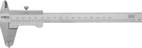 Штангенциркуль NEO з сертифiкатом DIN, 150 мм, нержавiюча сталь, 75-001 купить в интернет-магазине Dinar ☎ (099) 160 34 55 ✓ лучшие цены ✓ бесплатная доставка от 1000 грн ✓ отзывы и фото