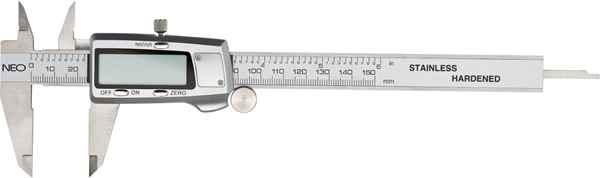 Штангенциркуль NEO цифровий, 150 мм, нержавiюча сталь, 75-011 купить в интернет-магазине Dinar ☎ (099) 160 34 55 ✓ лучшие цены ✓ бесплатная доставка от 1000 грн ✓ отзывы и фото