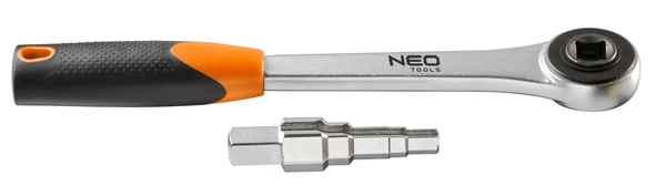 Ключ NEO для рознiмних з`єднань з трiскачкою, 1/2', 02-060 купить в интернет-магазине Dinar ☎ (099) 160 34 55 ✓ лучшие цены ✓ бесплатная доставка от 1000 грн ✓ отзывы и фото