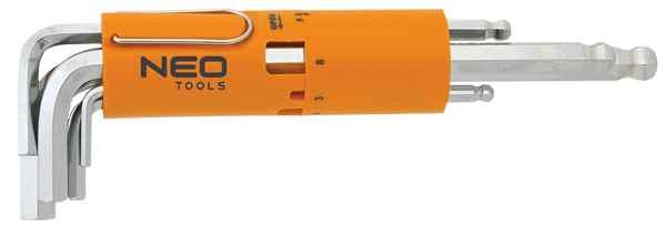 Ключi NEO шестиграннi,  2.5-10 мм, набiр 8 шт.*1 уп., 09-523 купить в интернет-магазине Dinar ☎ (099) 160 34 55 ✓ лучшие цены ✓ бесплатная доставка от 1000 грн ✓ отзывы и фото