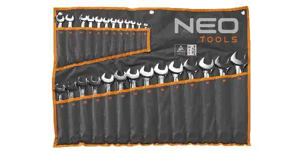 Набiр ключiв комбiнованих NEO, 6-32 мм, набiр 26 шт., 09-035 купить в интернет-магазине Dinar ☎ (099) 160 34 55 ✓ лучшие цены ✓ бесплатная доставка от 1000 грн ✓ отзывы и фото