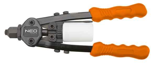 Клепальний iнструмент NEO для заклепок 2.4, 3.2, 4.0, 4.8 мм, 18-107 купить в интернет-магазине Dinar ☎ (099) 160 34 55 ✓ лучшие цены ✓ бесплатная доставка от 1000 грн ✓ отзывы и фото
