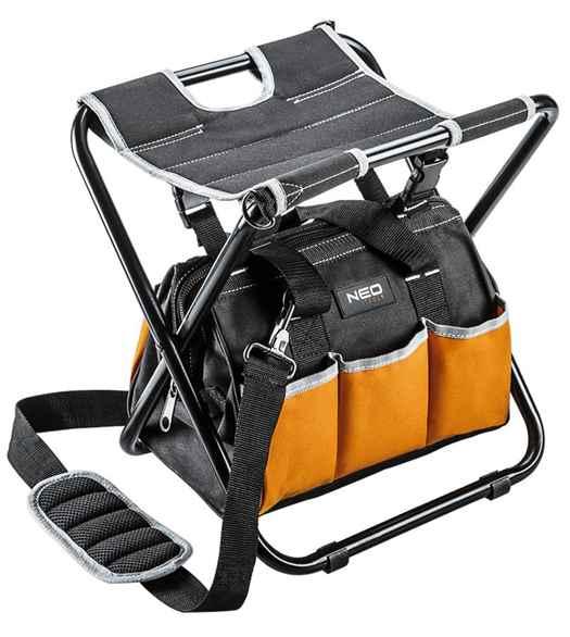 Табурет NEO складаний з монтерський сумкою, 84-306 купить в интернет-магазине Dinar ☎ (099) 160 34 55 ✓ лучшие цены ✓ бесплатная доставка от 1000 грн ✓ отзывы и фото