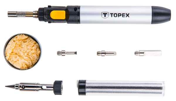 Мiкропальник TOPEX 12 мл,у комплектi насадки, 44E108 купить в интернет-магазине Dinar ☎ (099) 160 34 55 ✓ лучшие цены ✓ бесплатная доставка от 1000 грн ✓ отзывы и фото