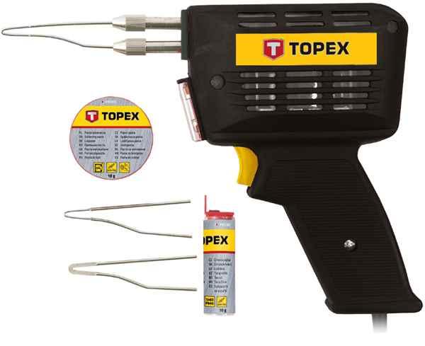 Паяльник TOPEX електричний 150 Вт, 44E005 купить в интернет-магазине Dinar ☎ (099) 160 34 55 ✓ лучшие цены ✓ бесплатная доставка от 1000 грн ✓ отзывы и фото