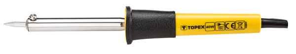 Паяльник TOPEX електричний 40Вт, 44E024 купить в интернет-магазине Dinar ☎ (099) 160 34 55 ✓ лучшие цены ✓ бесплатная доставка от 1000 грн ✓ отзывы и фото