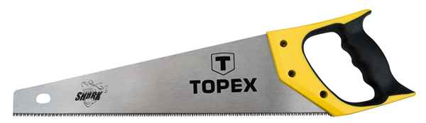 """Пилка TOPEX по дереву,  450 мм, """"Shark"""", 7TPI, 10A445 купить в интернет-магазине Dinar ☎ (099) 160 34 55 ✓ лучшие цены ✓ бесплатная доставка от 1000 грн ✓ отзывы и фото"""