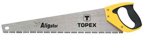 """Пилка TOPEX по дереву, 500 мм, """"Aligator"""", 7TPI, 10A451 купить в интернет-магазине Dinar ☎ (099) 160 34 55 ✓ лучшие цены ✓ бесплатная доставка от 1000 грн ✓ отзывы и фото"""