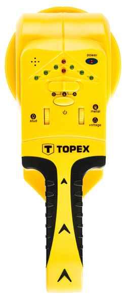 Детектор TOPEX 3 в 1 для дерева/напруги/метала 120, 94W120 купить в интернет-магазине Dinar ☎ (099) 160 34 55 ✓ лучшие цены ✓ бесплатная доставка от 1000 грн ✓ отзывы и фото