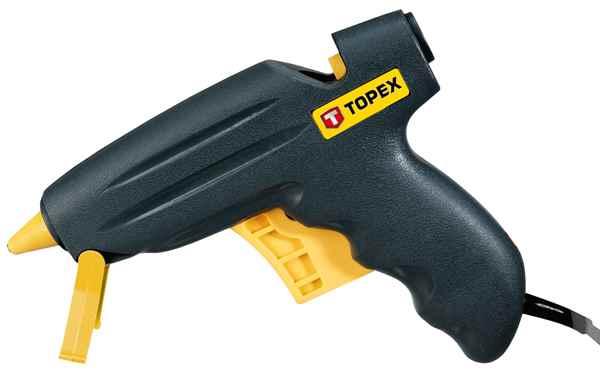 Пiстолет TOPEX клейовий електричний, 11 мм, 200Вт, 42E521 купить в интернет-магазине Dinar ☎ (099) 160 34 55 ✓ лучшие цены ✓ бесплатная доставка от 1000 грн ✓ отзывы и фото