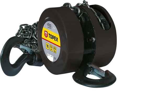 Лебiдка TOPEX ланцюгова 1т, 2.5 м, 97X071 купить в интернет-магазине Dinar ☎ (099) 160 34 55 ✓ лучшие цены ✓ бесплатная доставка от 1000 грн ✓ отзывы и фото