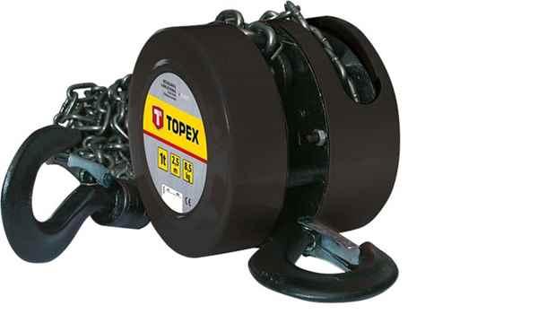 Лебiдка TOPEX ланцюгова 2 т, 2.5 м, 97X072 купить в интернет-магазине Dinar ☎ (099) 160 34 55 ✓ лучшие цены ✓ бесплатная доставка от 1000 грн ✓ отзывы и фото