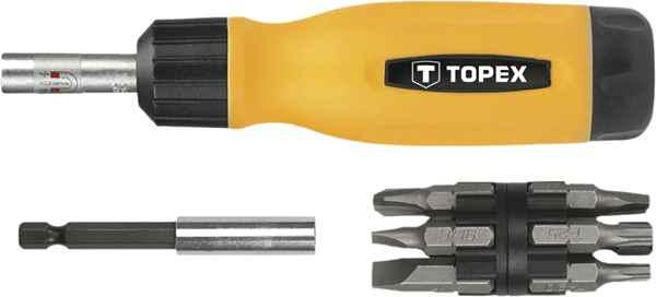 Насадки TOPEX з тримачем, набiр у футлярах 14 шт.*1 уп., 39D518 купить в интернет-магазине Dinar ☎ (099) 160 34 55 ✓ лучшие цены ✓ бесплатная доставка от 1000 грн ✓ отзывы и фото