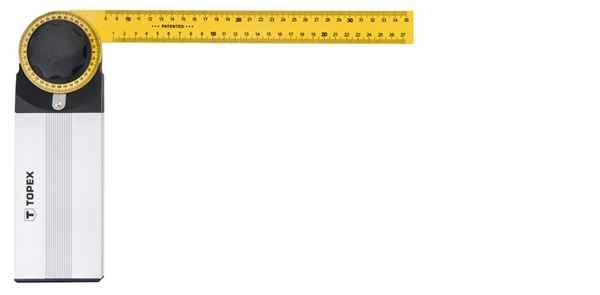 Кутомір TOPEX розвідний, 500 x 240  мм, 30C345 купить в интернет-магазине Dinar ☎ (099) 160 34 55 ✓ лучшие цены ✓ бесплатная доставка от 1000 грн ✓ отзывы и фото