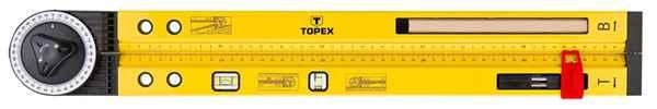 Кутомір TOPEX, рівень алюмінієвий, 30C321 купить в интернет-магазине Dinar ☎ (099) 160 34 55 ✓ лучшие цены ✓ бесплатная доставка от 1000 грн ✓ отзывы и фото