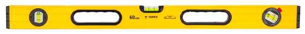 Рiвень TOPEX алюмiнiєвий, тип 600, 60 см, 3 вiчка, 29C602 купить в интернет-магазине Dinar ☎ (099) 160 34 55 ✓ лучшие цены ✓ бесплатная доставка от 1000 грн ✓ отзывы и фото