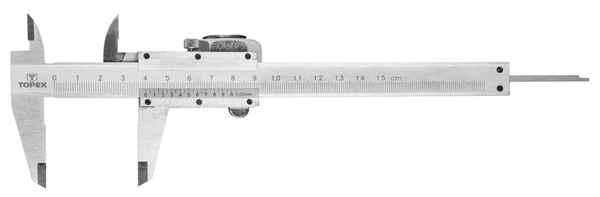 Штангенциркуль TOPEX, 150 мм, 31C615 купить в интернет-магазине Dinar ☎ (099) 160 34 55 ✓ лучшие цены ✓ бесплатная доставка от 1000 грн ✓ отзывы и фото