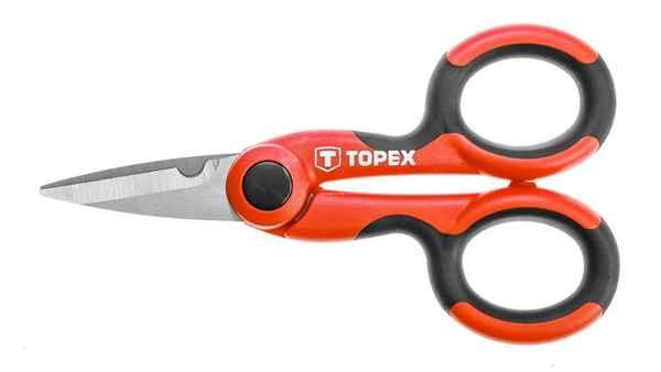 Ножиці TOPEX для кабелю, 144 мм, 32D414 купить в интернет-магазине Dinar ☎ (099) 160 34 55 ✓ лучшие цены ✓ бесплатная доставка от 1000 грн ✓ отзывы и фото