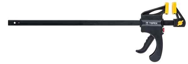 Струбцина TOPEX автоматична, 450 x 60 мм, 12A545 купить в интернет-магазине Dinar ☎ (099) 160 34 55 ✓ лучшие цены ✓ бесплатная доставка от 1000 грн ✓ отзывы и фото