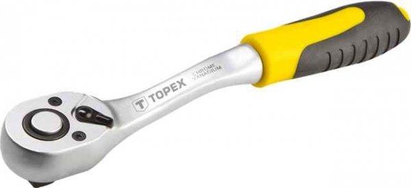 """Ключ-трiскачка TOPEX, вигнутий 1/2"""" 255 мм, 38D542 купить в интернет-магазине Dinar ☎ (099) 160 34 55 ✓ лучшие цены ✓ бесплатная доставка от 1000 грн ✓ отзывы и фото"""