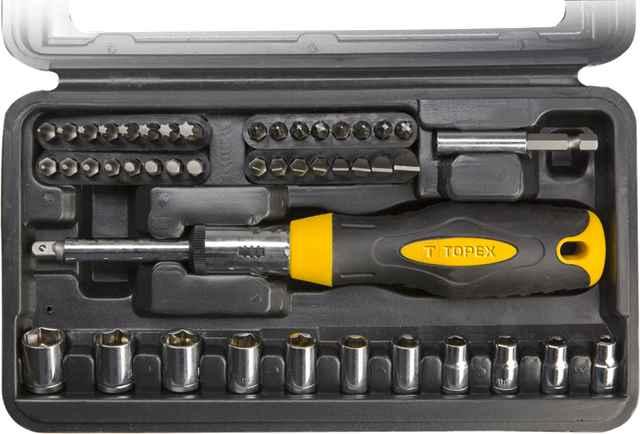 Набiр насадок TOPEX 39D524 з тримачем, Cr-V, 39D524 купить в интернет-магазине Dinar ☎ (099) 160 34 55 ✓ лучшие цены ✓ бесплатная доставка от 1000 грн ✓ отзывы и фото