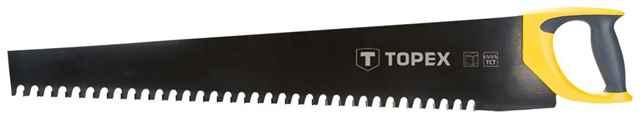 Пилка для піноблоків TOPEX, 600 мм, 34 зуби, твердосплавн.напайки, 10A761 купить в интернет-магазине Dinar ☎ (099) 160 34 55 ✓ лучшие цены ✓ бесплатная доставка от 1000 грн ✓ отзывы и фото