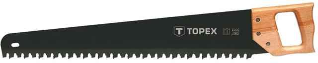 Пилка для піноблоків TOPEX, 600 мм/17 зубів, твердосплавн.напайки, 10A760 купить в интернет-магазине Dinar ☎ (099) 160 34 55 ✓ лучшие цены ✓ бесплатная доставка от 1000 грн ✓ отзывы и фото