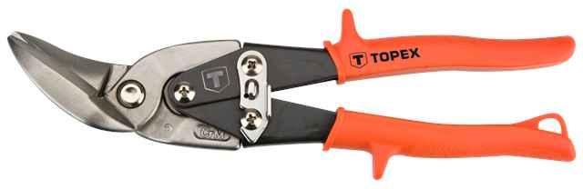 Ножицi TOPEX по металу, 240 мм, вигнутi лiвi, 01A430 купить в интернет-магазине Dinar ☎ (099) 160 34 55 ✓ лучшие цены ✓ бесплатная доставка от 1000 грн ✓ отзывы и фото