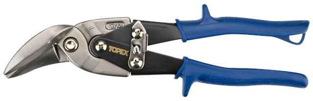 Ножицi TOPEX по металу, 240 мм, вигнутi правi, 01A431 купить в интернет-магазине Dinar ☎ (099) 160 34 55 ✓ лучшие цены ✓ бесплатная доставка от 1000 грн ✓ отзывы и фото