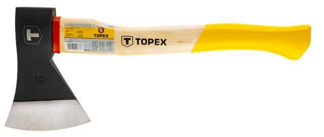 Сокира TOPEX 600 г, дерев'яна рукоятка, 05A136 купить в интернет-магазине Dinar ☎ (099) 160 34 55 ✓ лучшие цены ✓ бесплатная доставка от 1000 грн ✓ отзывы и фото