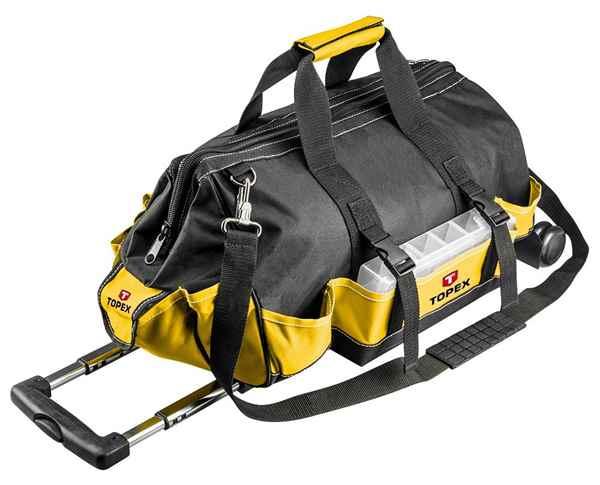Монтерська сумка TOPEX 79R449 на коліщатках, 79R449 купить в интернет-магазине Dinar ☎ (099) 160 34 55 ✓ лучшие цены ✓ бесплатная доставка от 1000 грн ✓ отзывы и фото