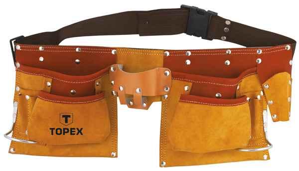 Пояс монтажника TOPEX, 11 кишень, 79R405 купить в интернет-магазине Dinar ☎ (099) 160 34 55 ✓ лучшие цены ✓ бесплатная доставка от 1000 грн ✓ отзывы и фото