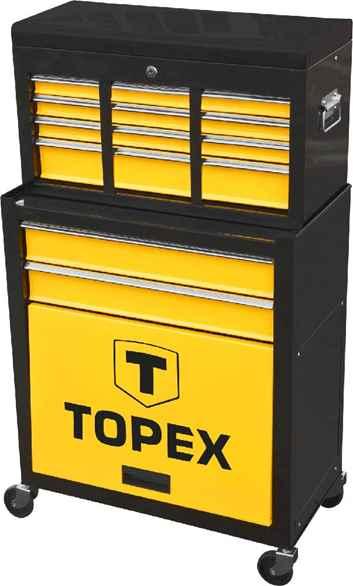 Шафа iнструментальна TOPEX ,  2 висувнi шухляди, полка, 79R500 купить в интернет-магазине Dinar ☎ (099) 160 34 55 ✓ лучшие цены ✓ бесплатная доставка от 1000 грн ✓ отзывы и фото