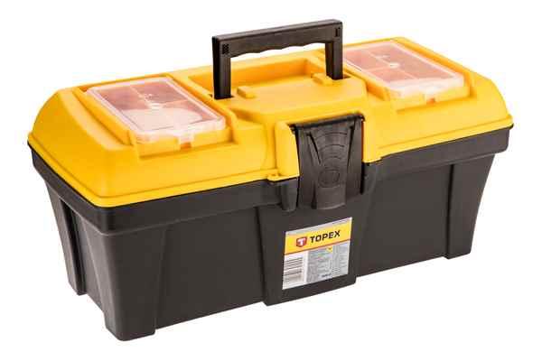 Ящик для iнструменту TOPEX 16'', лоток, 79R124 купить в интернет-магазине Dinar ☎ (099) 160 34 55 ✓ лучшие цены ✓ бесплатная доставка от 1000 грн ✓ отзывы и фото