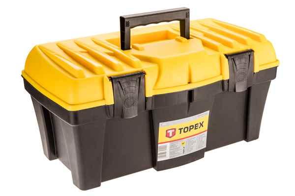 Ящик для iнструменту TOPEX 18'', 79R122 купить в интернет-магазине Dinar ☎ (099) 160 34 55 ✓ лучшие цены ✓ бесплатная доставка от 1000 грн ✓ отзывы и фото