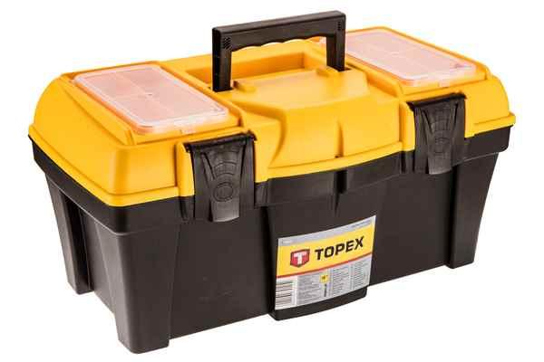 Ящик для iнструменту TOPEX 18'', лоток, 79R125 купить в интернет-магазине Dinar ☎ (099) 160 34 55 ✓ лучшие цены ✓ бесплатная доставка от 1000 грн ✓ отзывы и фото