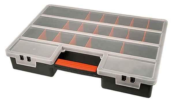 Ящик для кріплень (органайзер) XL  з перегородками, що регулюються, 79R160 купить в интернет-магазине Dinar ☎ (099) 160 34 55 ✓ лучшие цены ✓ бесплатная доставка от 1000 грн ✓ отзывы и фото