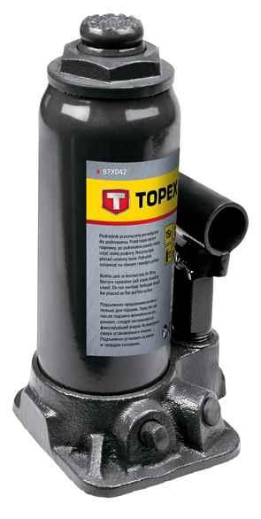 Домкрат TOPEX гiдравлiчний пляшковий, 15 т, 230-460 мм, 97X042 купить в интернет-магазине Dinar ☎ (099) 160 34 55 ✓ лучшие цены ✓ бесплатная доставка от 1000 грн ✓ отзывы и фото