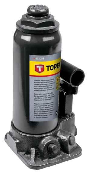 Домкрат TOPEX гiдравлiчний пляшковий, 3 т, 195-370 мм, 97X033 купить в интернет-магазине Dinar ☎ (099) 160 34 55 ✓ лучшие цены ✓ бесплатная доставка от 1000 грн ✓ отзывы и фото