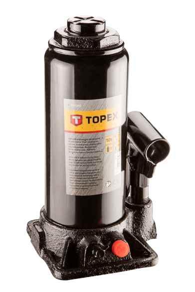 Домкрат TOPEX гiдравлiчний, 10 т, 230-460 мм, 97X040 купить в интернет-магазине Dinar ☎ (099) 160 34 55 ✓ лучшие цены ✓ бесплатная доставка от 1000 грн ✓ отзывы и фото