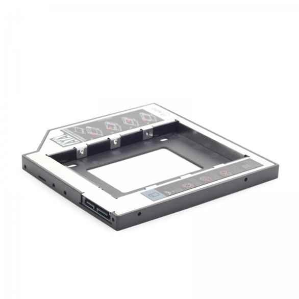 Купить Адаптер Gembird MF-95-01 для ноутбука у відсік CD-ROM ☎ (067) 467 25 28 ✓ лучшие цены ✓ постоянные акции и скидки ✓ отзывы ✓ точка выдачи в Киеве