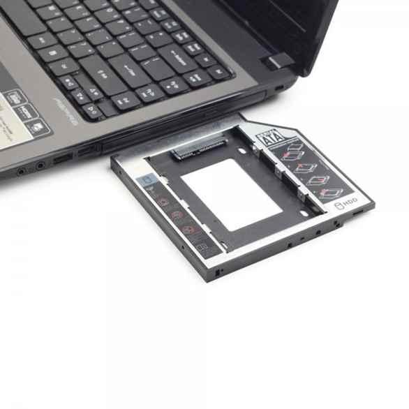 Купить Адаптер Gembird MF-95-02 для ноутбука у відсік CD-ROM ☎ (067) 467 25 28 ✓ лучшие цены ✓ постоянные акции и скидки ✓ отзывы ✓ точка выдачи в Киеве